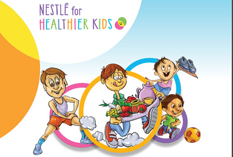 Nestlé for Healthier Kids Book Urdu