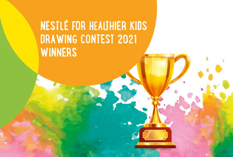 Drawing Contest Winners and Runner Ups 2021