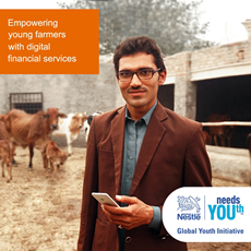 Empowering young farmers with digital financial services