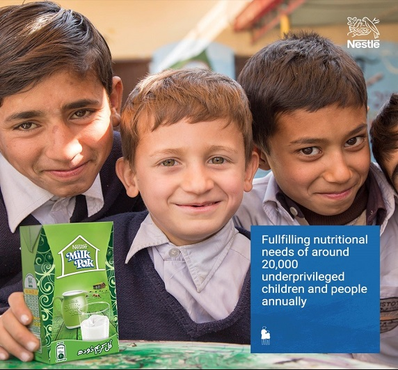 Nestlé's Nutrition Support Program addressing key micronutrient deficiencies