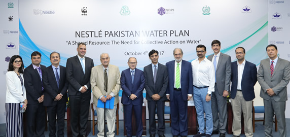 A Collective Approach: Nestlé Pakistan Water Plan launched